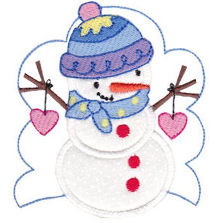 Snow Cuties Applique 12