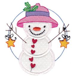 Snow Cuties Applique 2