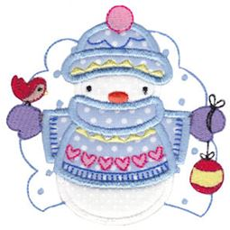 Snow Cuties Applique 3