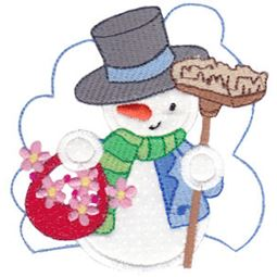 Snow Cuties Applique 5