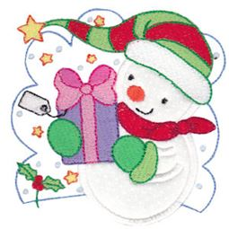 Snow Cuties Applique 7