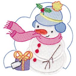 Snow Cuties Applique 8