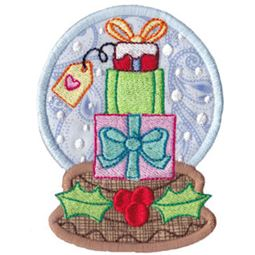 Applique Gifts Snowglobe