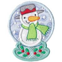 Snowglobes Applique