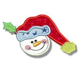 Snowman Soup Applique 1