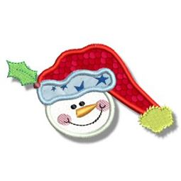 Snowman Soup Applique 1