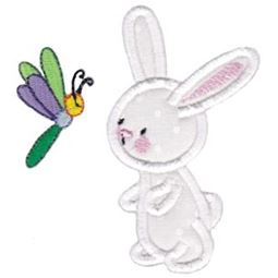 Snuggle Bunny Applique 5