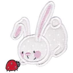 Snuggle Bunny Applique 9
