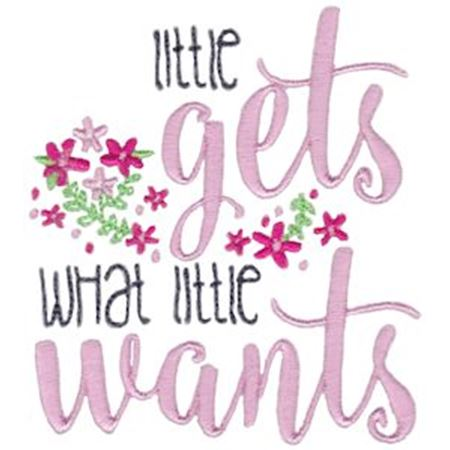 Little Gets What Little Wants