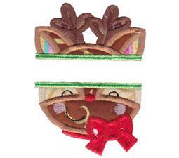 Split Christmas Applique 2