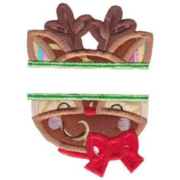 Split Rudolph Applique
