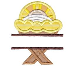 Split Manger Applique