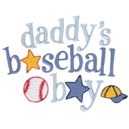 Daddy's Baseball Boy