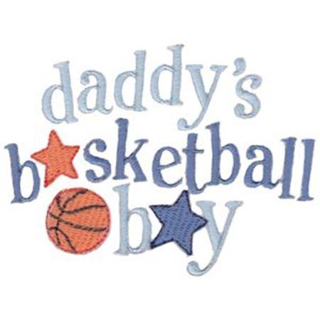 Daddy's Basketball Boy