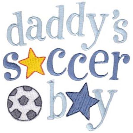 Daddy's Soccer Boy