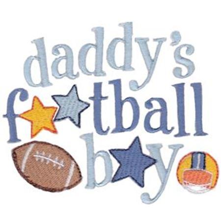 Daddy's Football Boy