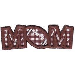 Football Mom Word Art
