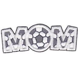 Soccer Mom Word Art