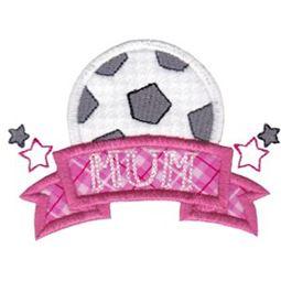 Soccer Mum Applique