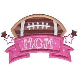 Football Mom Applique