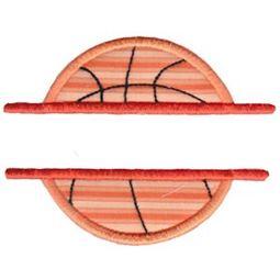 Split Basketball Applique