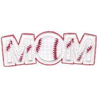 Baseball Mom Word Art