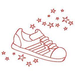 Sporty Boys Redwork 11