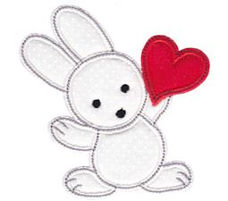 Spring Love Hearts Applique 10