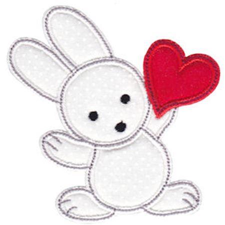 Spring Love Hearts Applique 10