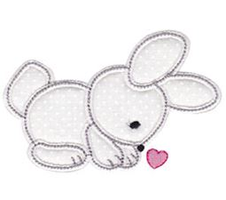 Spring Love Hearts Applique 11