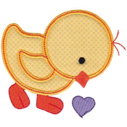 Spring Love Hearts Applique 13