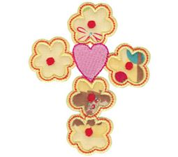 Spring Love Hearts Applique 17