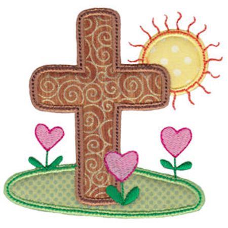 Spring Love Hearts Applique 20