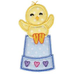 Spring Love Hearts Applique 4