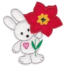 Spring Love Hearts Applique 6