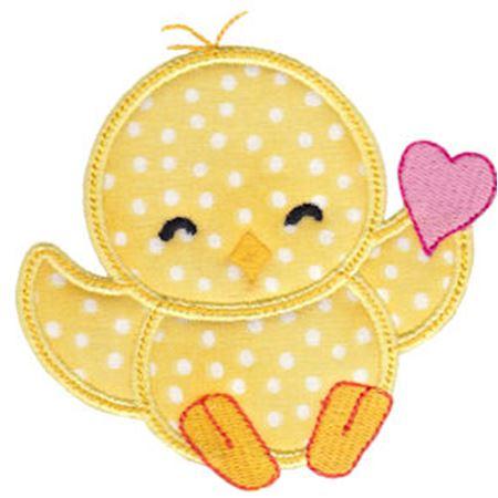 Spring Love Hearts Applique 7