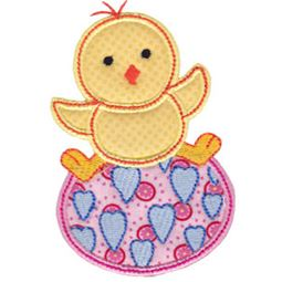 Spring Love Hearts Applique 9