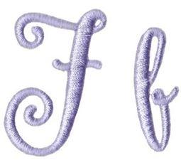 Starstruck Alphabet F