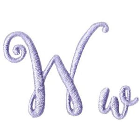 Starstruck Alphabet W