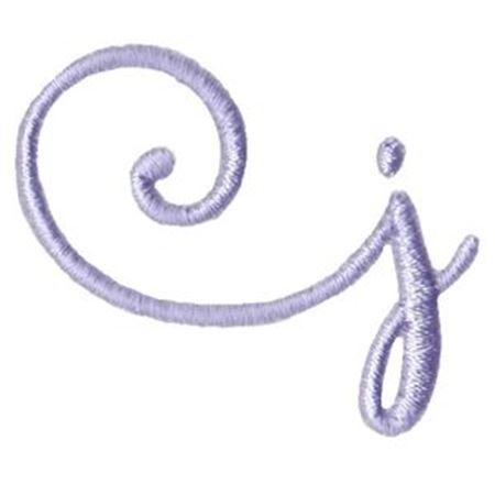 Starstruck Alphabet Left Tail j