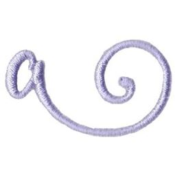 Starstruck Alphabet Right Tail a
