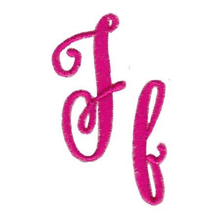 Steelheart Embroidery Font F