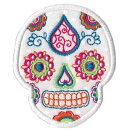 Sugar Skulls Applique 1