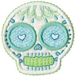 Sugar Skulls Applique 10