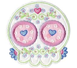 Sugar Skulls Applique 11
