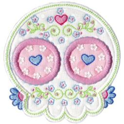 Sugar Skulls Applique 11