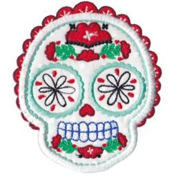 Sugar Skulls Applique 12
