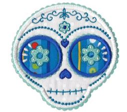 Sugar Skulls Applique 3