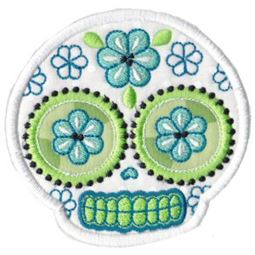 Sugar Skulls Applique 4