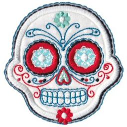 Sugar Skulls Applique 5